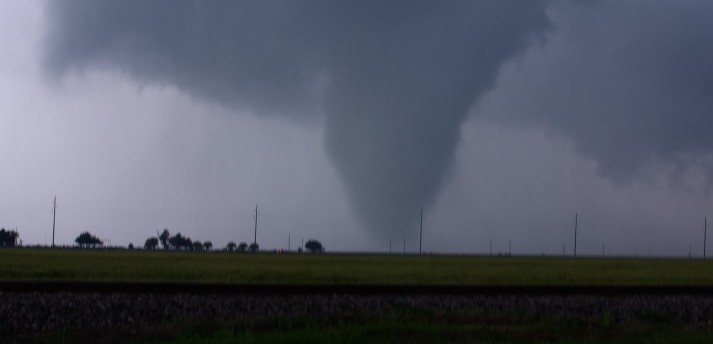 Tornadoes over central Oklahoma!